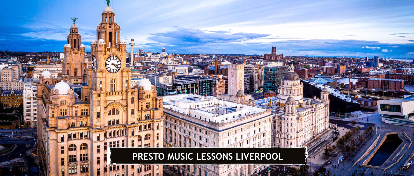 Presto Music Lessons Liverpool