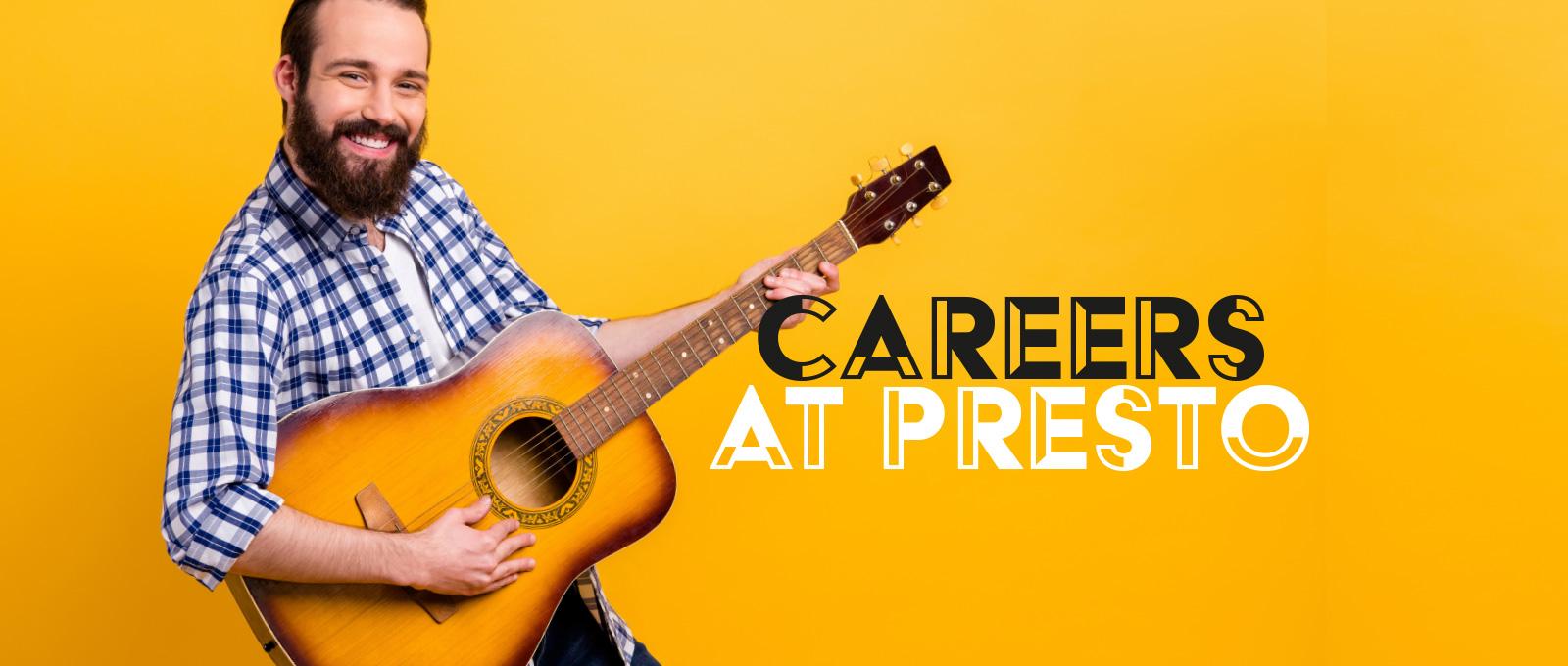 Careers at Presto Music School