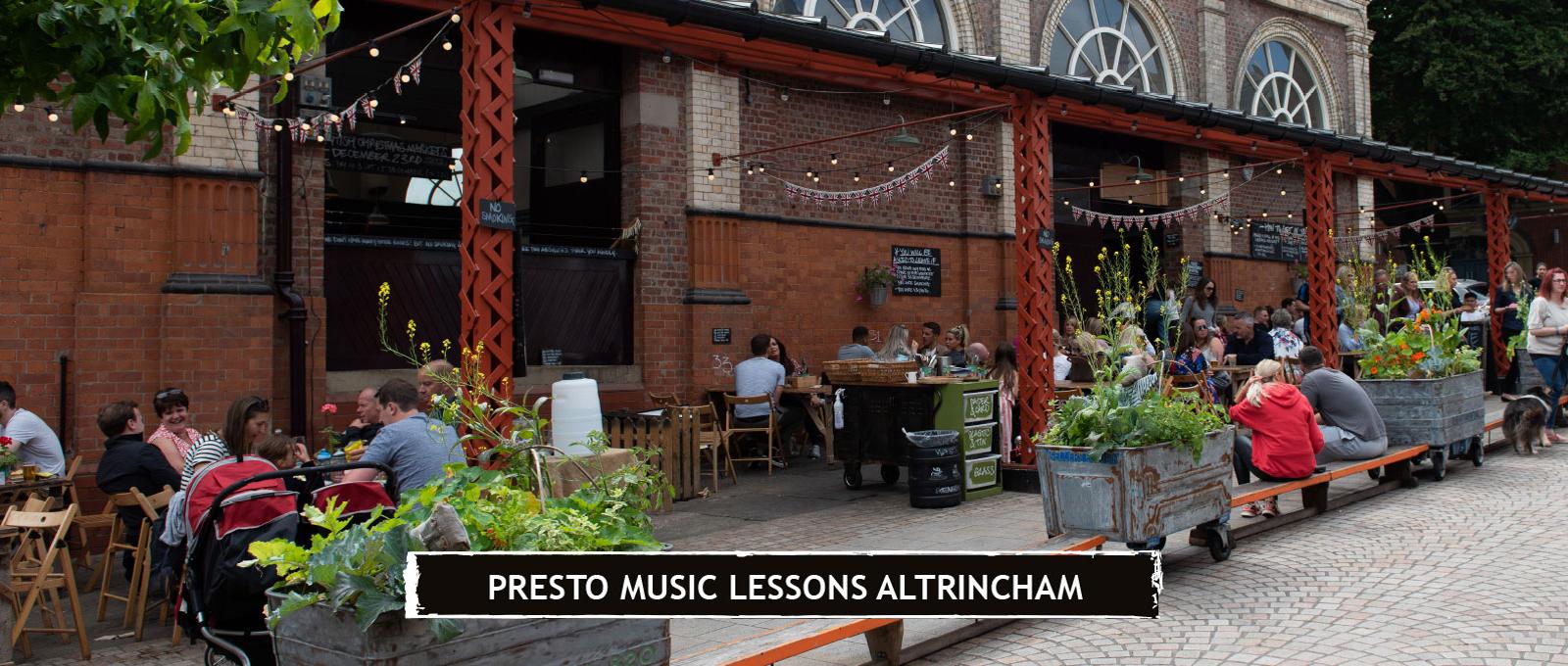 Presto Music Lessons Altrincham
