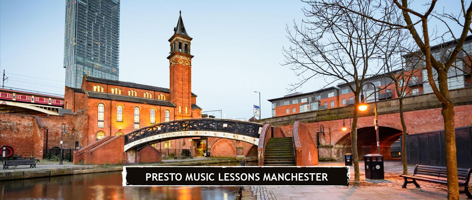 Presto Music Lessons Manchester