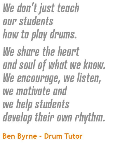 Drum Quote