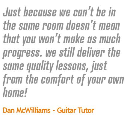 Guitar Lessons Quote