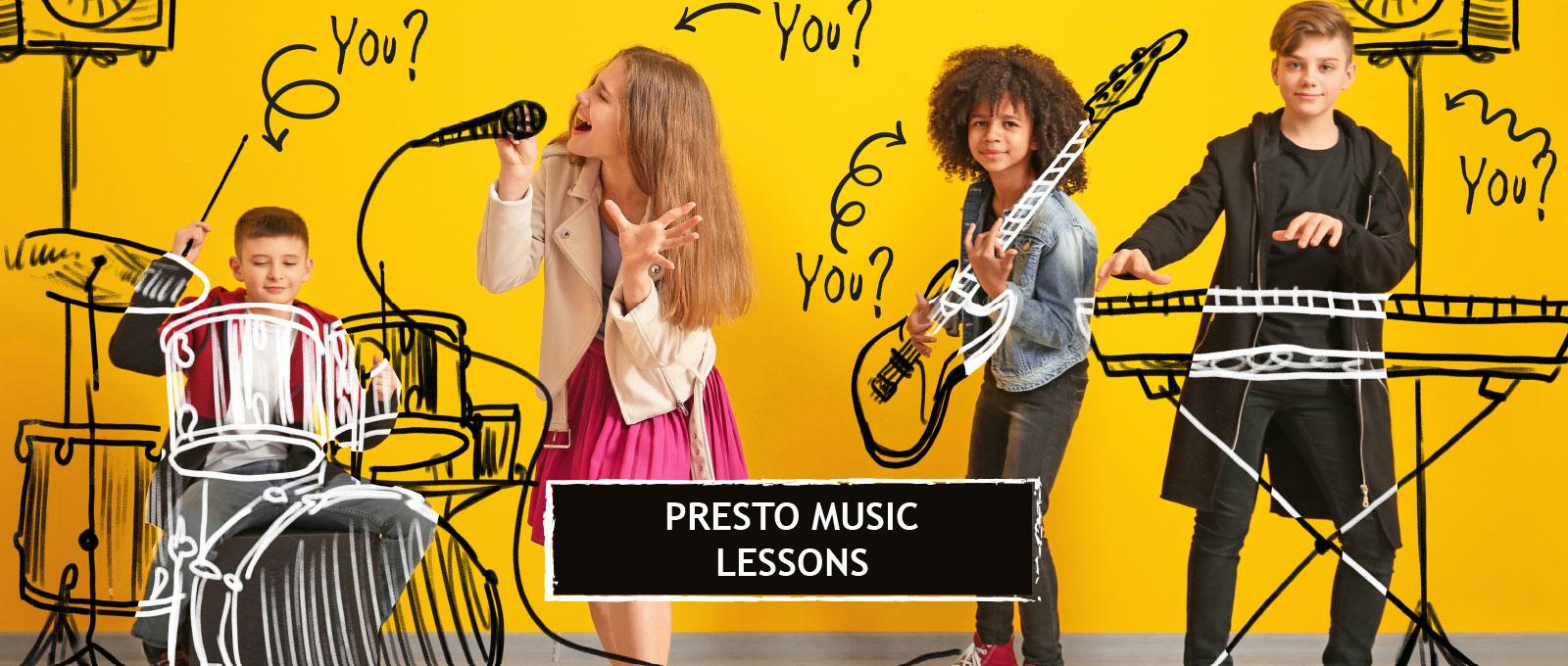 Presto Music Lessons