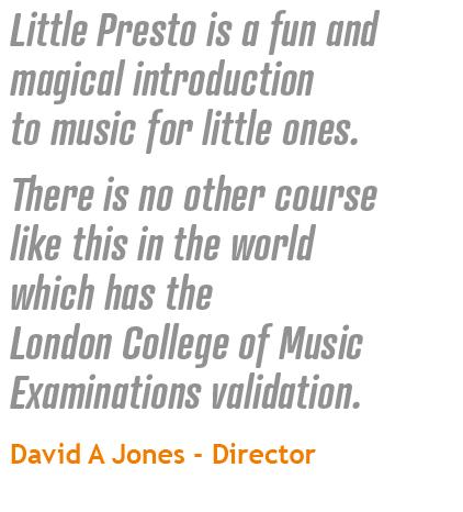 Little Presto Quote